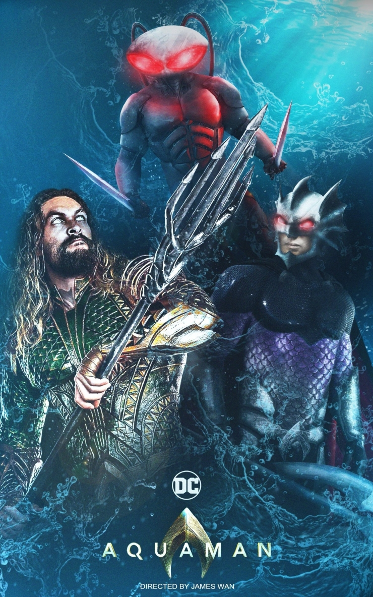 Aquaman vs Ocean Master